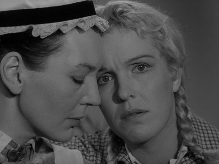 Barbro Hiort & Eva Dahlbeck, So Close to Life (1958)