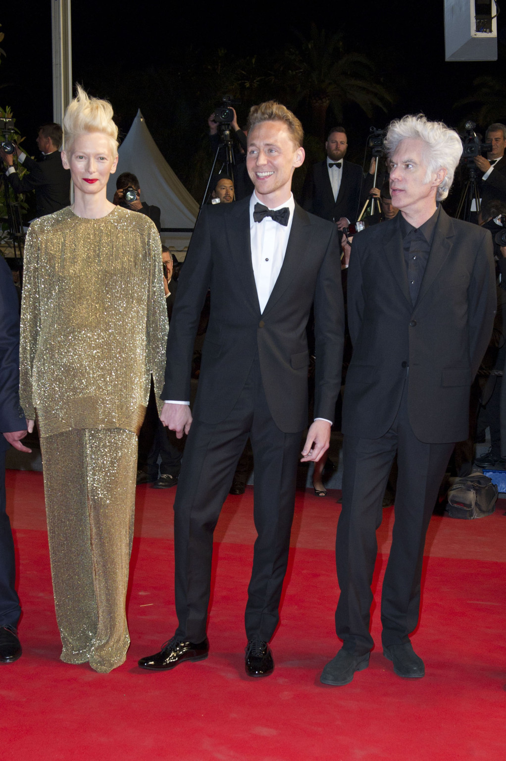 Jim Jarmusch, Tilda Swinton, Tom Hiddleston / 2013