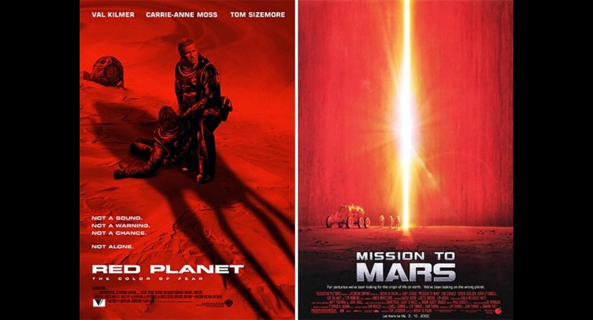 Red Planet / Mission To Mars / 2001
