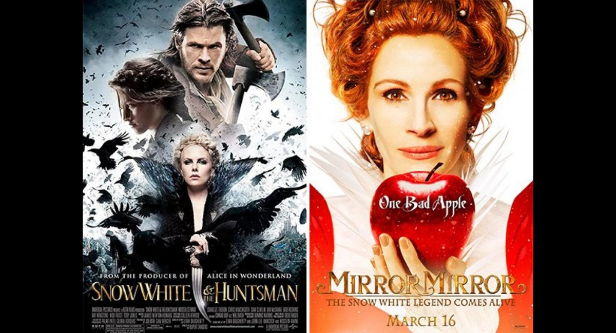 Snow White And The Huntsman / Mirror Mirror / 2012
