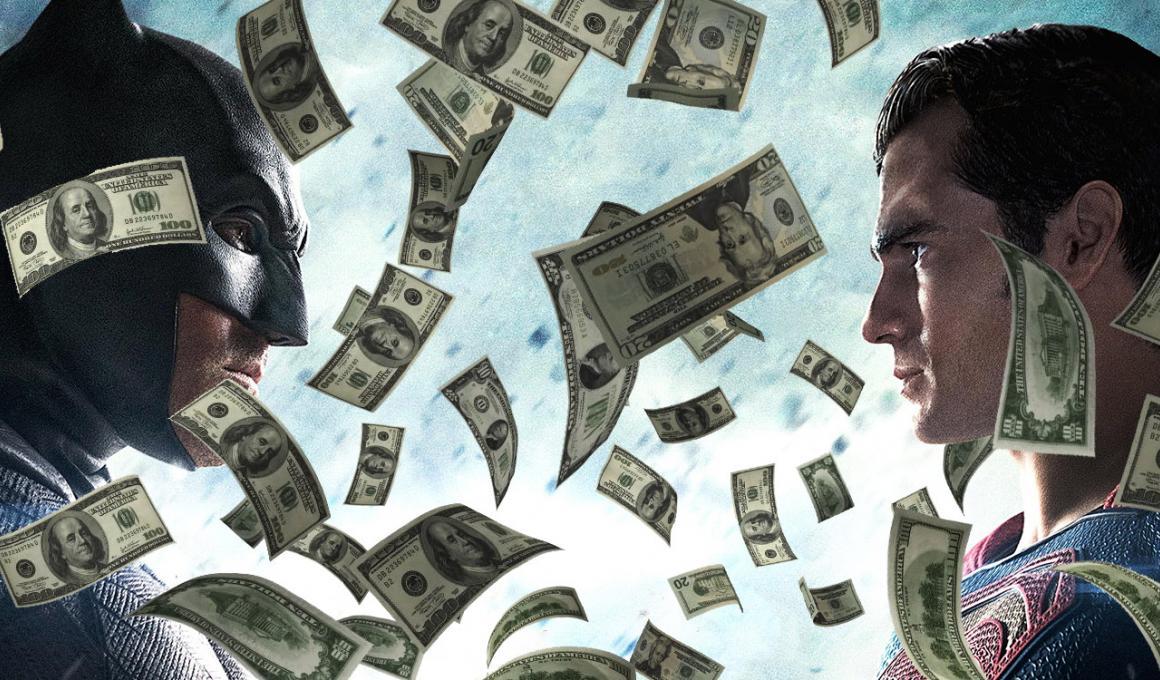 """Όλα τα λεφτά στο """"Βatman v Superman"""""""