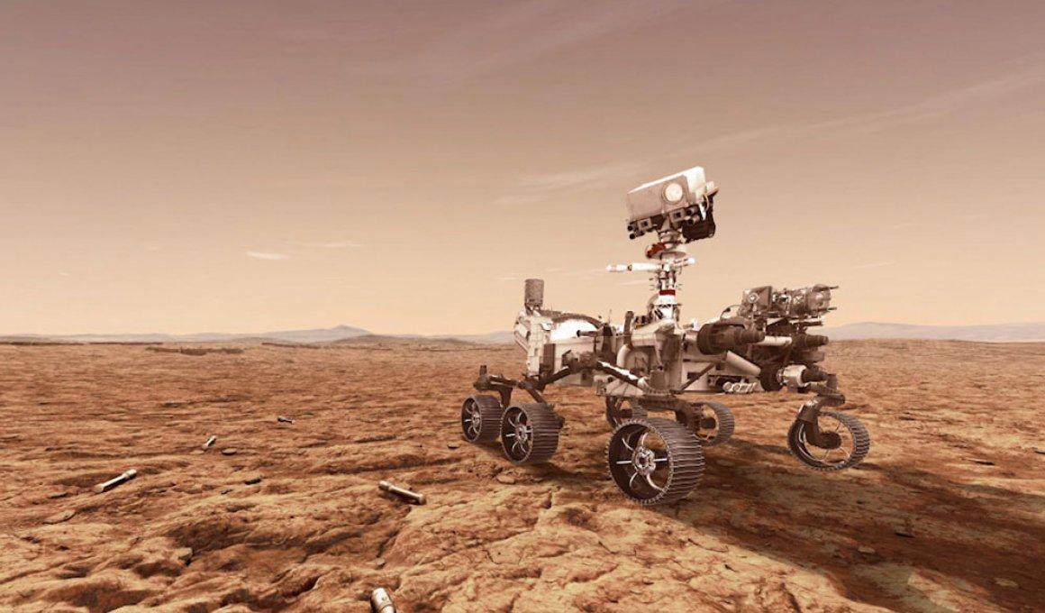 Το National Geographic σας προσεδαφίζει στον Άρη