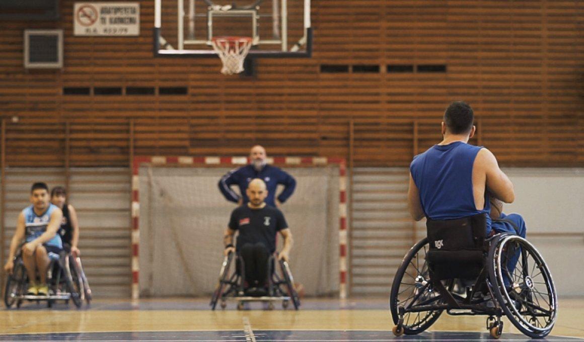 """""""No heroes"""": Οι μπασκετμπολιστες σε αμαξίδιο δεν είναι ήρωες, είναι αθλητές"""