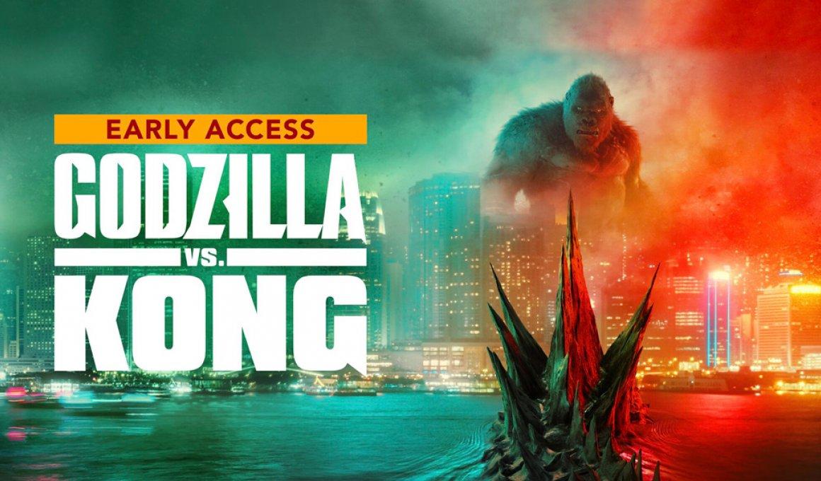 """Πρεμιέρα για το """"Godzilla vs Kong"""" στο Vodafone TV"""