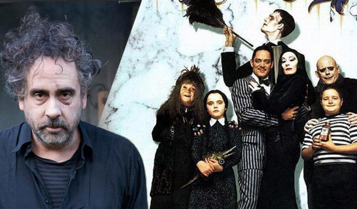 Ο Τιμ Μπάρτον δοκιμάζει στην μικρή οθόνη με Addams Family