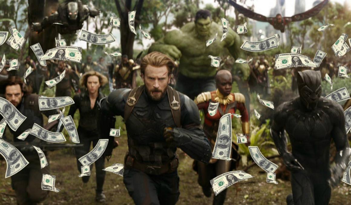 """Το """"Avengers: Infinity War"""" κατάφερε το μεγαλύτερο εισπρακτικό άνοιγμα, ever"""