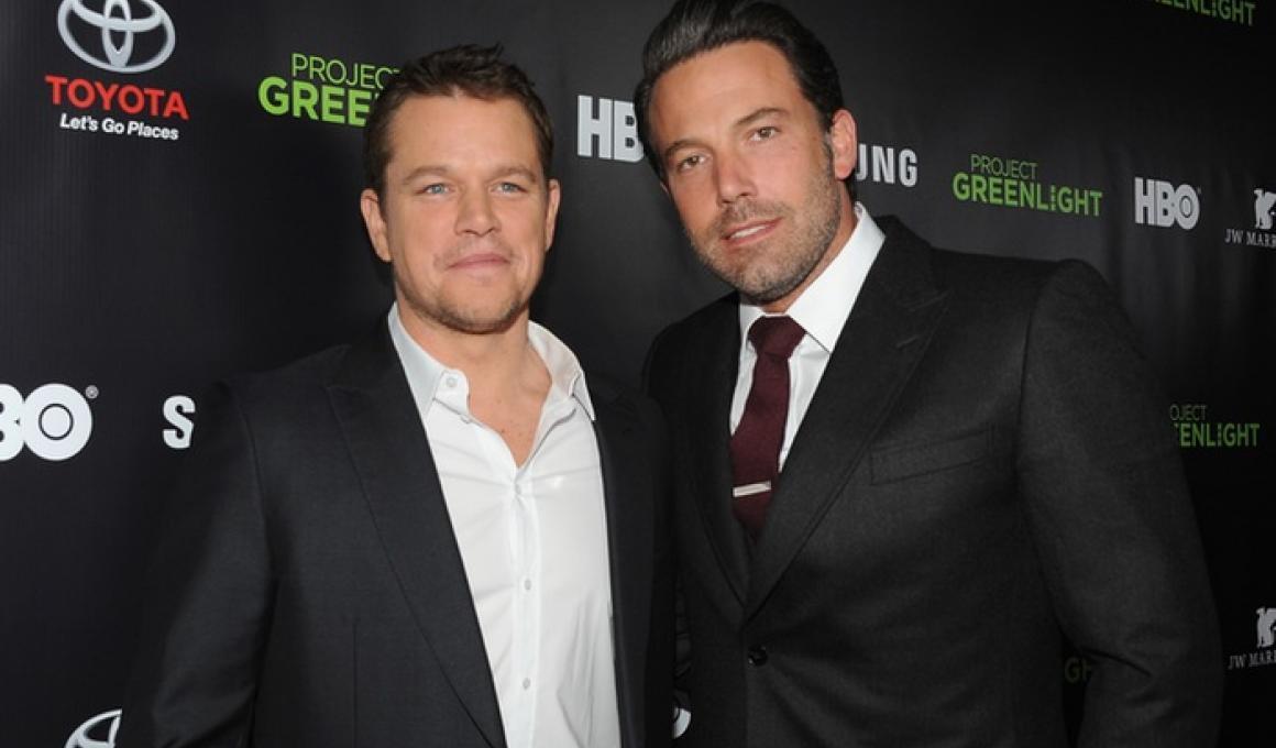 """Incorporated"":  Ντέιμον και Άφλεκ ετοιμάζουν τηλεοπτική σειρά"