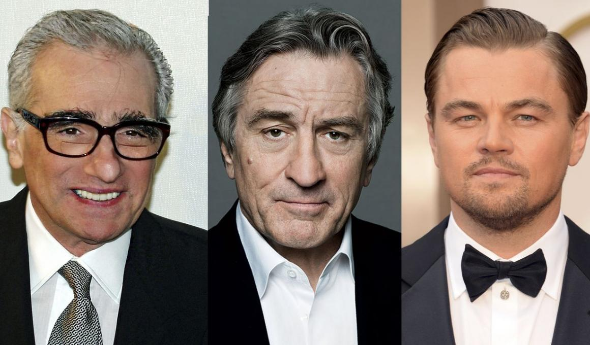 Σκορσέζε, Ντε Νίρο και Ντι Κάπριο μαζί σε ταινία; NAI!