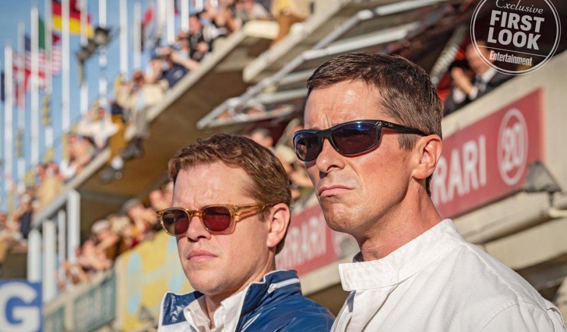 """Κρίστιαν Μπέιλ & Ματ Ντέιμον: """"Ford v Ferrari""""!"""