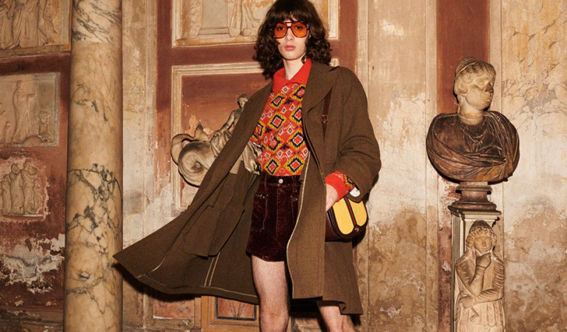 O Γιώργος Λάνθιμος φωτογραφίζει τα μοντέλα του Gucci στα αρχαία μνημεία της Ρώμης