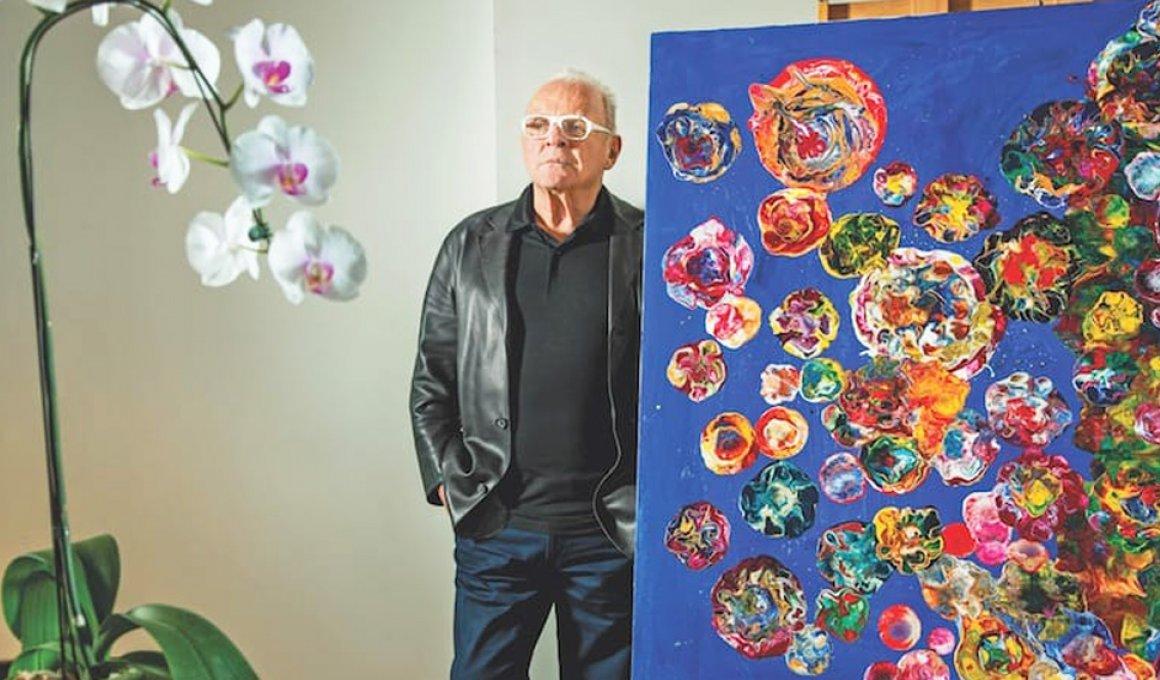 Ο Άντονι Χόπκινς είναι πλέον και ζωγράφος