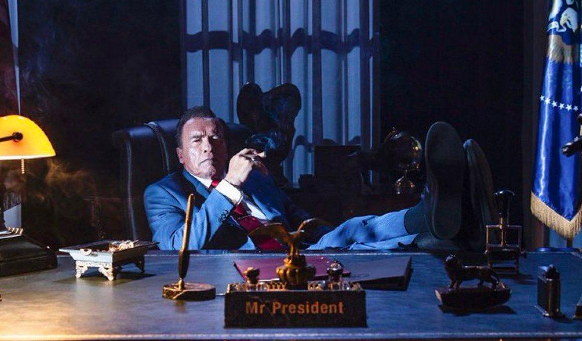 Ο Άρνολντ Σβαρτσενέγκερ Πρόεδρος των ΗΠΑ στο Kung Fury