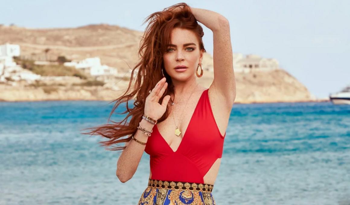 Όλα τα είχε η Ελλάδα, η Lindsay Lohan της έλειπε!