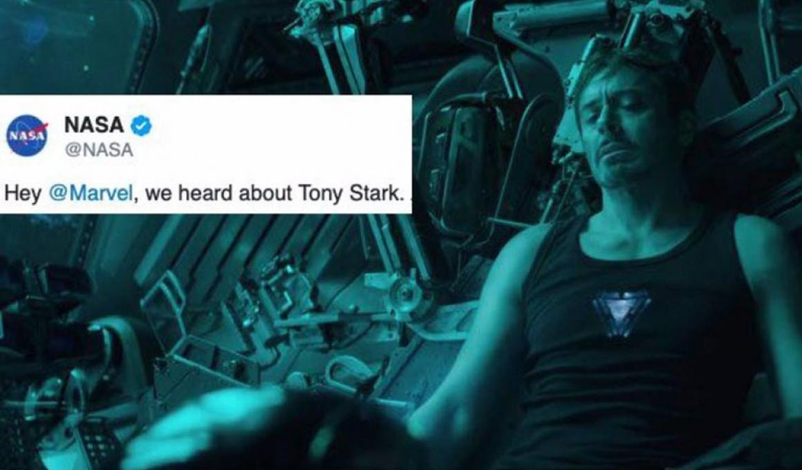 nasa save tony stark