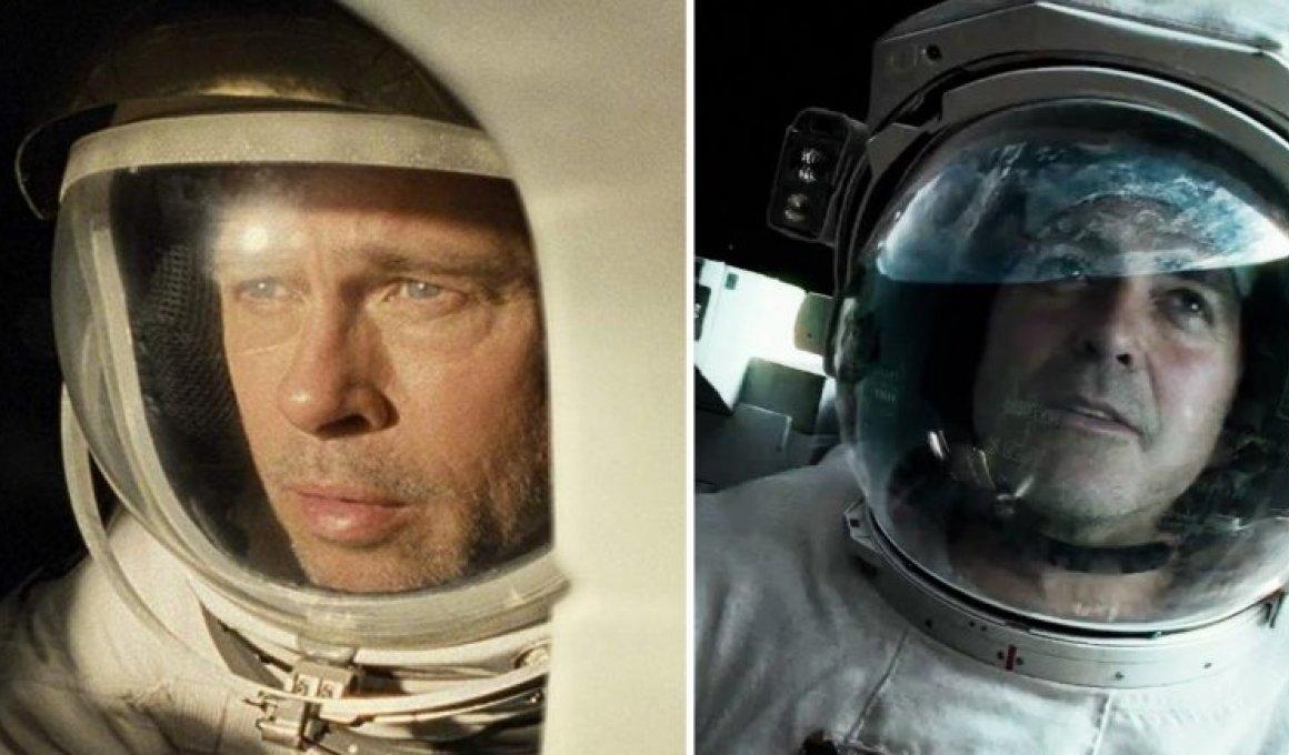 """Μπραντ Πιτ σε NASA: """"Ποιος ήταν πιο πιστευτός αστροναύτης; Εγώ ή ο Κλούνεϊ"""""""