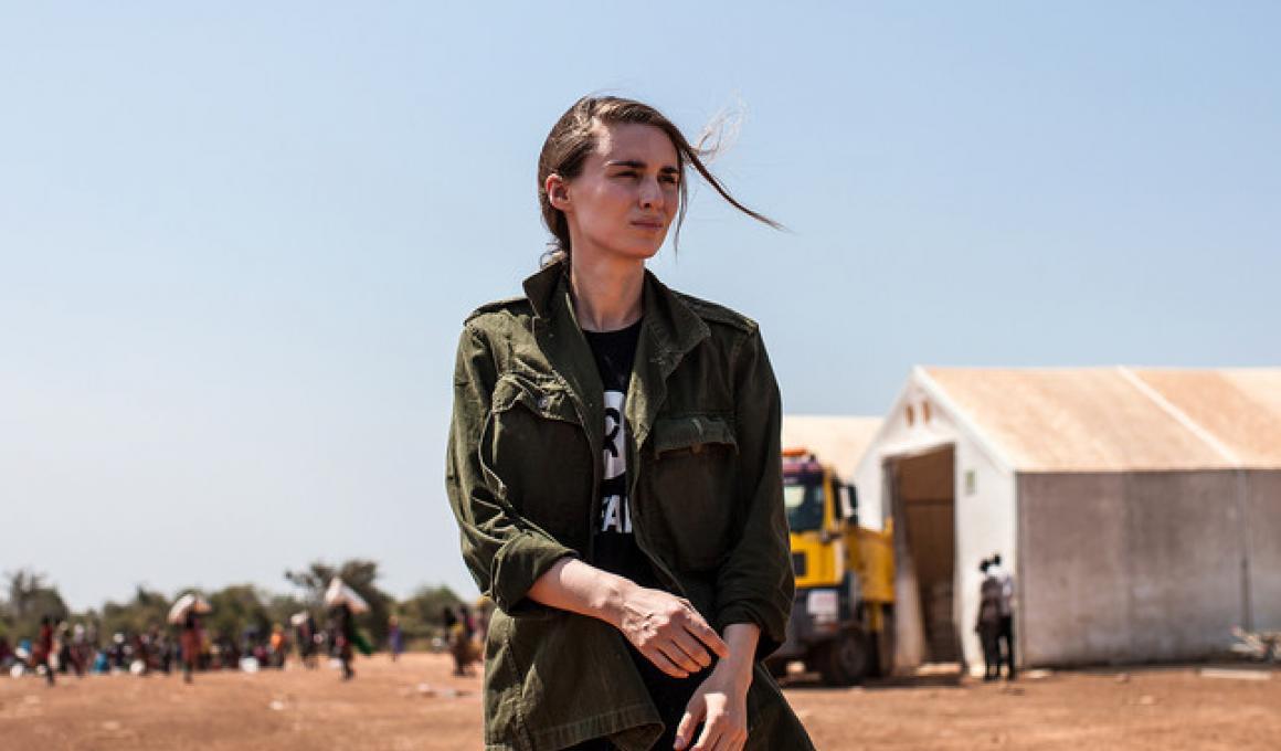 Η Ρούνι Μάρα στο Νότιο Σουδάν