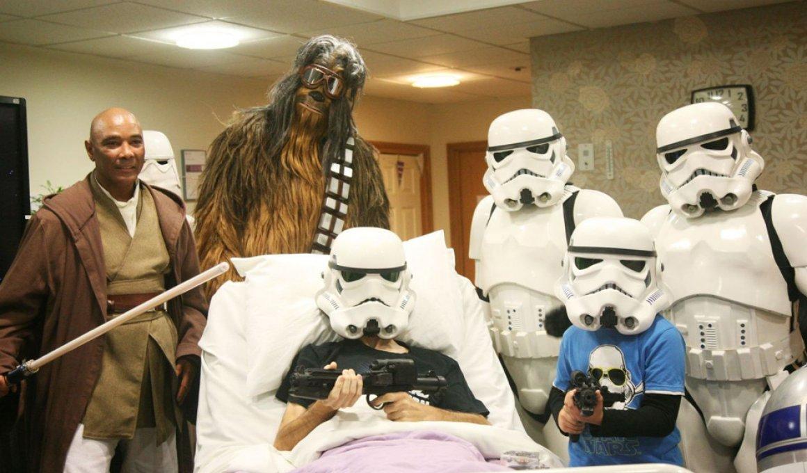 Ετοιμοθάνατος άντρας είδε πρώτος τo νέο Star Wars