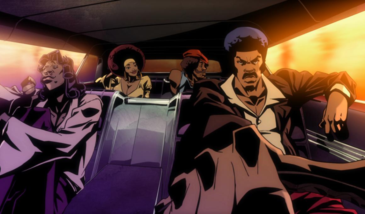 Black Dynamite Animated Series!