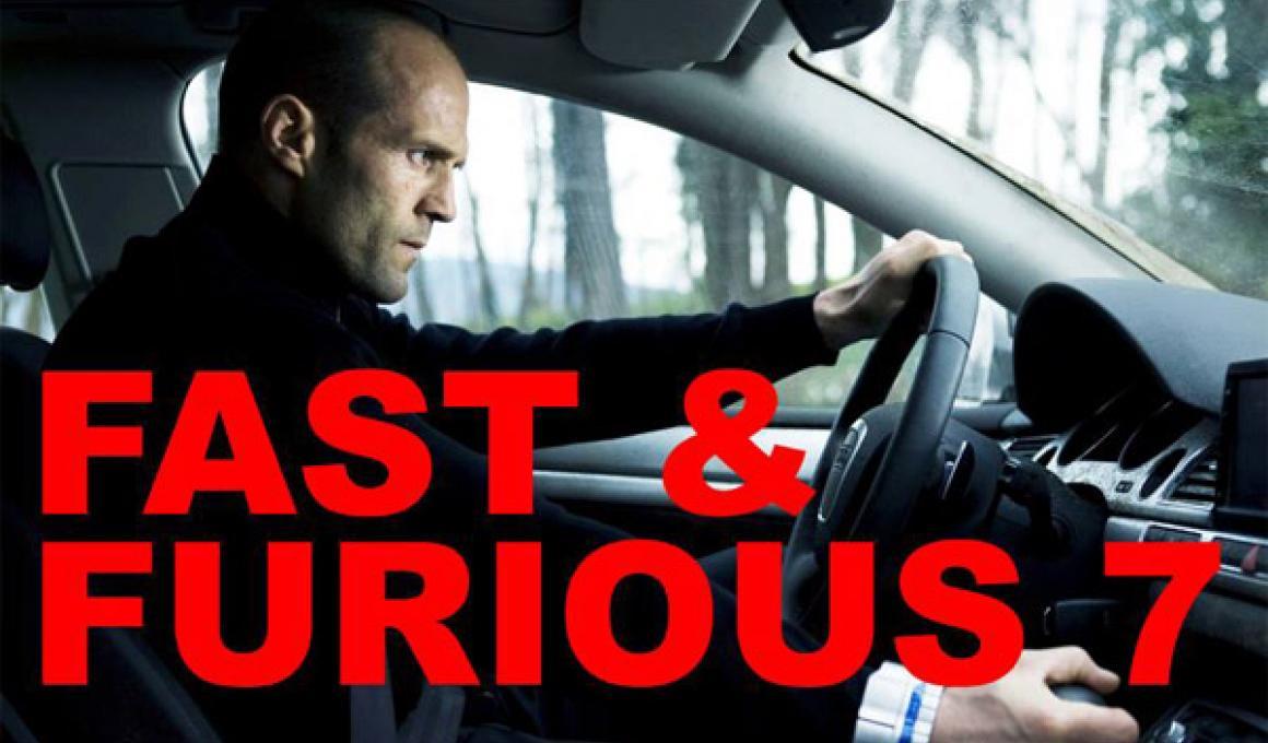 Τζέισον Στέθαμ και στο Fast & Furious 7. Χώσε.
