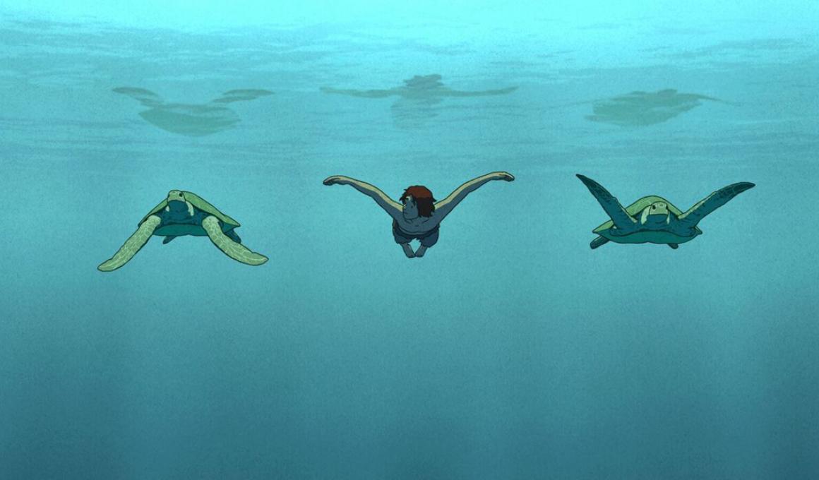 η κοκκινη χελωνα