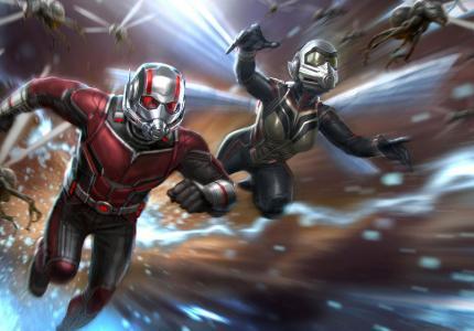 Λογική πρωτιά για Ant-Man και Σφήκα