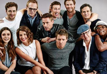 """Τα γυρίσματα του """"Avengers: Age Of Ultron"""" ήταν ξεκαρδιστικά!"""