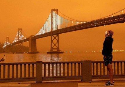 Πυρκαγιές ΗΠΑ - Βlade Runner 2049. Ανατριχίλα