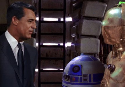 Κάποιος τοποθέτησε τον Κάρι Γκραντ στο σύμπαν των Star Wars