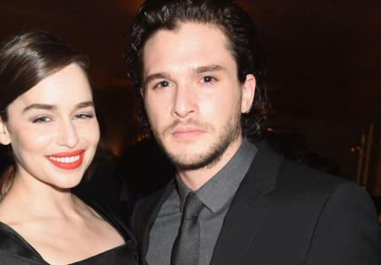 kit harrington emilia clarke dolce & gabbana