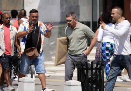 Η Θεσσαλονίκη έγινε... Μαϊάμι για τα γυρίσματα της ταινίας του Αντόνιο Μπαντέρας