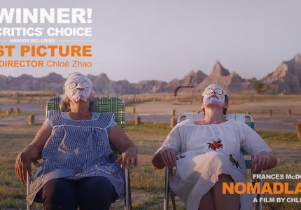 Τα Critics Choice Awards 2021 έδειξαν Nomadland