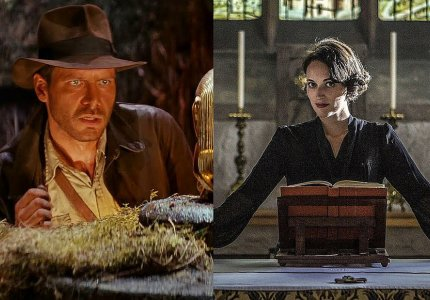 Η Φίμπι Ουόλερ Μπριτζ πλάι στον Χάρισον Φορντ, στο νέο Indiana Jones