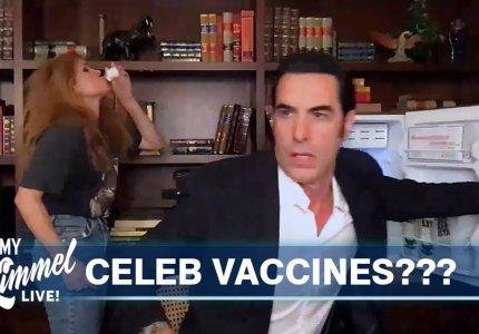 Ο Σάσα Μπάρον Κοέν σπρώχνει εμβόλια στην μαύρη αγορά