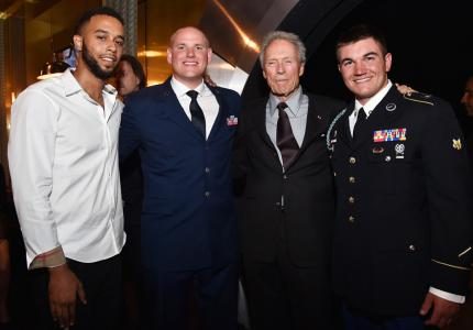 clint eastwood Alek Skarlatos