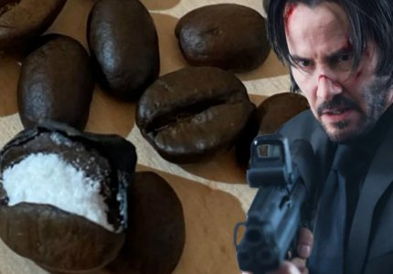 O John Wick και οι κόκκοι καφέ με κοκαϊνη