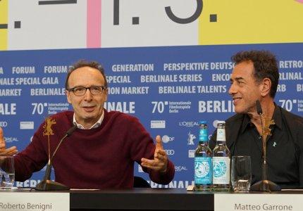 "Berlinale 2020 - Ρομπέρτο Μπενίνι: ""Ήταν η μοίρα μου να παίξω Πινόκιο και Τζεπέτο"""