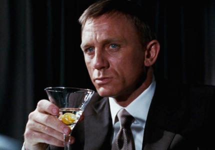 James Bond Is An Alcoholic