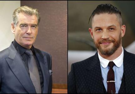 Ο Πιρς Μπρόσναν θέλει τον Τομ Χάρντι σαν επόμενο James Bond