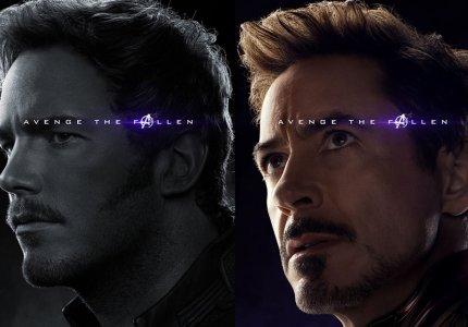Avengers: Endgame. Παιχνίδι σε άσπρο-μαύρο