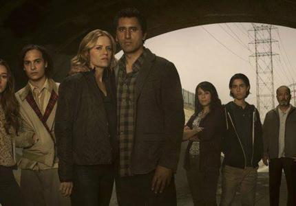 """""""Fear the walking dead"""" season 01 - Web series"""