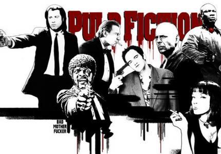 Μετά από 20 χρόνια, το Pulp Fiction ξανά στην Ελλάδα και 12 φανταστικά πόστερ!