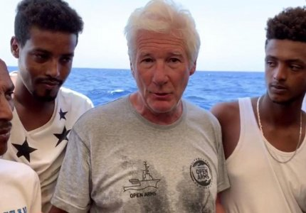 richard gere labedusa
