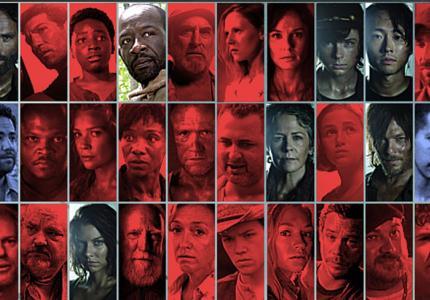 """Ποιος έχει σκοτώσει τους πιο πολλούς στο """"The Walking Dead"""";"""