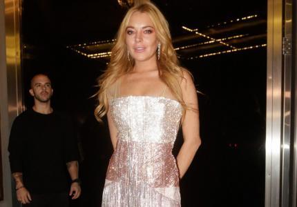 H Lindsay Lohan άνοιξε club στην Αθήνα. Για φιλανθρωπικό σκοπό.