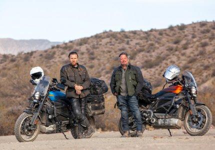 Ο Γιούαν ΜακΓκρέγκορ διανύει όλη τη Νότια Αμερική με μια Harley