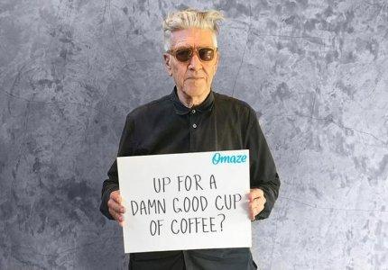 Ο Ντέιβιντ Λιντς θέλει να πιείτε καφέ και να σε ζωγραφίσει