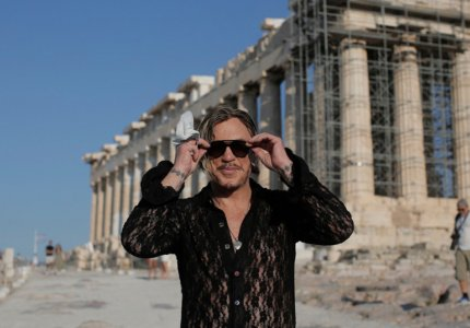 O Μίκι Ρουρκ στην Αθήνα