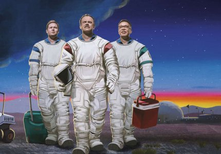"""""""Moonbase 8"""" season 1: Wannabe ατζαμήδες αστροναύτες"""