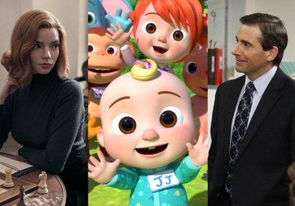 Best 2020: Οι 50 πιο δημοφιλείς σειρές του Netflix