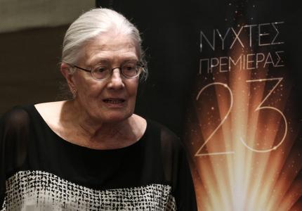 """Νύχτες 17 - Βανέσα Ρεντγκρέιβ: """"Ή ανθρώπινη αξιοπρέπεια στα σκουπίδια"""""""